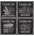 Set elements on the theme of the restaurant vector image vector image