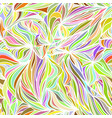 abstract seamless waves background vector image