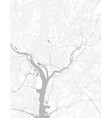 black and white city map washington with well vector image vector image