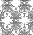 Cannabis pattern5 vector image vector image