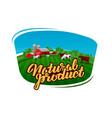 Cow milk logo dairy farm farmer or cattle