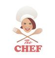 logo chef-02 vector image