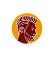 Logo design outline mens haircut