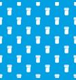 salt shaker pattern seamless blue vector image vector image