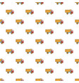 toy truck pattern vector image vector image