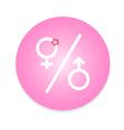 men and women restroom sign vector image