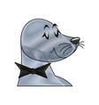 seal animal circus carnival show image vector image