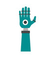 artificial intelligence related icon image vector image