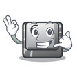 call me button c installed on cartoon computer vector image vector image