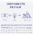 Doodle Start Up Design vector image vector image