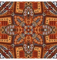 geometric ethnic tribal indian print vector image