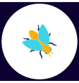 insect computer symbol vector image vector image