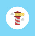 lighthouse icon sign symbol vector image vector image