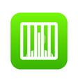 man behind jail bars icon digital green vector image