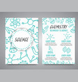 science banners set research outline icon tiny vector image vector image