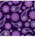 seamless pattern with Turkish cucumbers and flower vector image