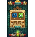 Jungle shamans GUI mission completed vector image vector image