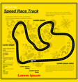 nine yellow race circuit background