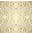Seamless islamic pattern 3d Traditional Arabic vector image vector image