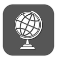 The globe icon Globe symbol vector image
