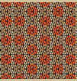 abstract tribal boho art seamless pattern design vector image vector image