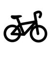 Bike transport vehicle icon vector image vector image