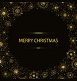 christmas round background vector image