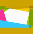 comic book geometric pop art retro background vector image vector image