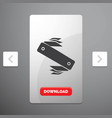 knife army camping swiss pocket glyph icon in vector image