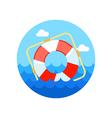 Lifebuoy icon Summer Marine vector image vector image