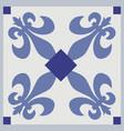 ornamental tiles pattern vector image vector image
