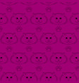 seamless pattern funny cute cats faces vector image vector image
