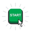 Start power button vector image vector image