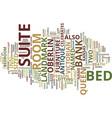 the landmark inn text background word cloud vector image vector image