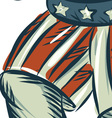 vote republican 2016 elephant boxer isolated vector image vector image