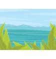 Summer or spring time background vector image