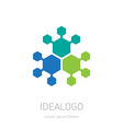 Abstract Logo logotype design element or icon vector image