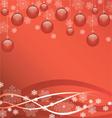 beautiful bright Christmas Wallpaper vector image vector image