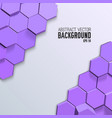 clean geometric mosaic background vector image vector image