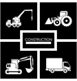 Construction design vector image vector image