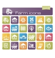 Farm icons part 2 vector image vector image