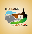 Land Of Smile vector image vector image
