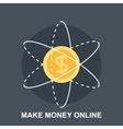 Make Money Online vector image
