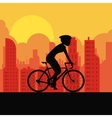Racing bike design vector image vector image
