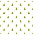 spruce tree pattern seamless vector image