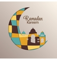 Background for Muslim Community Festival Ramadan vector image vector image