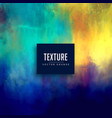 beautiful texture background made with watercolor vector image vector image
