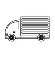 delivery or cargo truck icon image vector image vector image