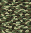 fashion camouflage seamless vector image vector image