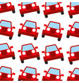 jeep car travel transport seamless pattern image vector image